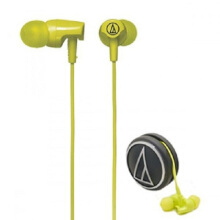 Audio Technica ATH-CLR100 Earphone Light Green