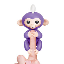 WOWWEE Fingerlings Baby Monkeys - Mia (Purple)