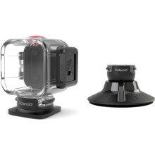 Polaroid Cube Waterproof Case w/ Suction