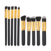 10pcs Professional Cosmetic Makeup Brushes Set Foundation Eyeshadow Brush