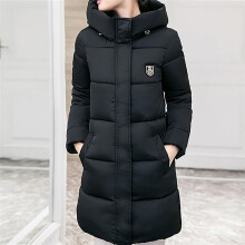 BESSKY Women Solid Casual Thicker Winter Slim Down Lammy Jacket Coat Overcoat_