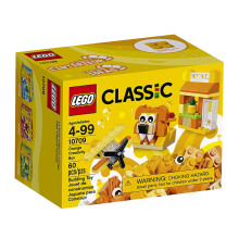LEGO Classic Orange Creativity Box 10709