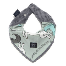 LA MILLOU Minky Warm Neck - Unicorn Rainbow Knight Galaxy Grey WN083GY