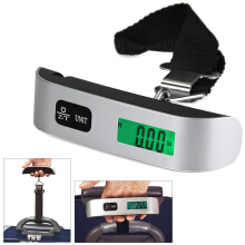 Hostweigh NS-14 LCD Mini Luggage Electronic Scale 50kg Capacity Digital Weighing Device
