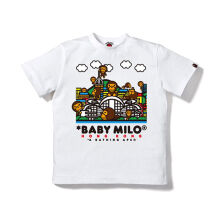 A BATHING APE Hk 11th Anniv Baby Mi - White [L] 0IX TE M10105 8 WHX