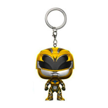 FUNKO Pop! Keychain: Power Rangers - Yellow Ranger