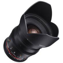 Samyang 24mm T1.5 VDSLRII Cine Lens for Sony Alpha Mount Black