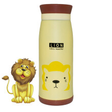 RADYSA Botol Thermos Animal - Lion 500ML Yellow