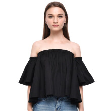 LOOKBOUTIQUESTORE Will Sabrina Top - Black