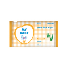 MY BABY Extra Thick Wipes Fresh Fruity - 10 Sheet
