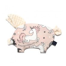 LA MILLOU Sleepy Pig Pillow - Unicorn Sugar Bebe Ecru SP083FW
