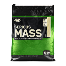 OPTIMUM NUTRITION On Serious Mass Vanila (12 lbs)