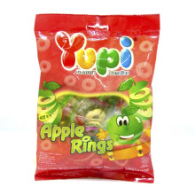 YUPI Apple Rings Hanging Bag 120gr
