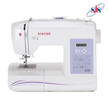 SINGER 6160 Brilliance Mesin Jahit Computerised Portable - Putih