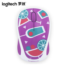 LOGITECH M238-V2 Wireless Mouse - Purple