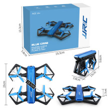 BESSKY JJRC H43WH Blue Crea 720P WIFI Camera Foldable With Altitude Hold RC Quadcopter- Blue