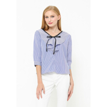 INSTYLE BY SURI Olive Top Blue - Blue [All Size]