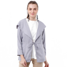 ALERA Official Mian Hoodie Outer - Grey [All Size]
