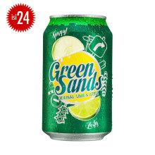 GREEN SANDS Apple Lime Can Carton 330ml x 24pcs
