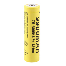 1pc 3.7V 18650 9900mah Li-ion Rechargeable Battery For LED Flashlight Torch