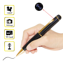 720P HD Mini Pen Camera Camcorder DVR Video Recorder Support 32GB TF Card