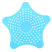 Cute Star Shape Floor Drain Hair Stopper Bath Catcher Sink Strainer Sewer Filter