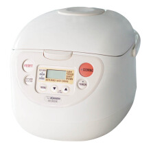 ZOJIRUSHI Rice Cooker NS-WAQ18 WD - White