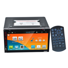 FY6305 Android car 2DIN DVD player Black