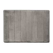Microdry Memory Foam Bath Mat 43 X 61 cm - Charcoal (Small) By Terry Palmer