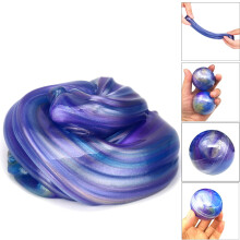 BESSKY Crystal Ball Mud Colorful Soft Slime Slime Scented Stress Relief Toy Sludge Toys - Purple