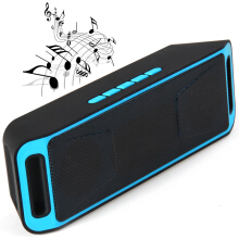K812 Portable Bluetooth V2.1 Stereo Speaker with Built-in Microphone TF Card AUX Slot
