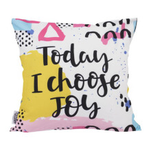 GLERRY HOME DECOR Today I Choose Cushion Cover - 40x40Cm
