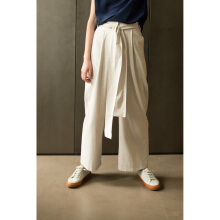 SHOP AT VELVET Revel In Nostalgia Waltz Pants - Light Grey