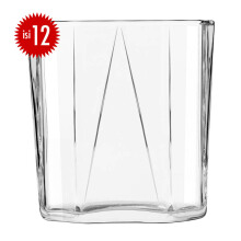 LIBBEY Gelas Kaca  Prism Rocks set of 12 251ML - 1033