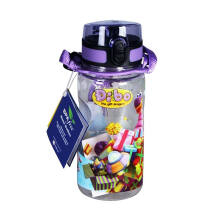 DIBO Water Bottle Design 7 Dibo Purple 400 ml