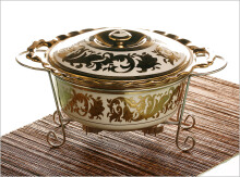 VICENZA Round Casserole Aries CR681