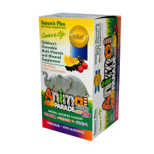 NATURE'S PLUS Sol Animal Parade Assorted 45pcs