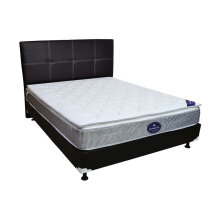 GOOD Night USA Springbed Plushtop M034 Size 160 x 200 HB Elegance - Full Set - Putih