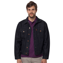 LEA Jacket - Black Denim
