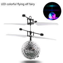 BESSKY RC Flying Ball Drone Helicopter Ball - White