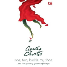 One, Two, Buckle My Shoe (Satu, Dua, Pasang Gesper Sepatunya) Cover Baru - Agatha Christie 617185032