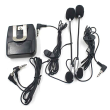 Portable Helmet Walkie Talkie with Ear Headset for Motorcycle