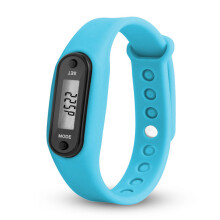 BESSKY Run Step Watch Bracelet Pedometer Calorie Counter Digital LCD Walking Distance-
