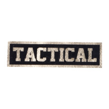 Tactical Series Velcro Patch 2.5 x 9 cm - TACTICAL - Black Gold