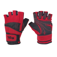 Zuna Sport Men Wristwrap Fitness Gloves Half Finger