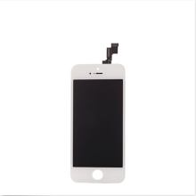 Dooreemee LCD Touch Screen Digitizer Frame Assembly Full Set LCD Touch Screen Replacement for iPhone 5S - Hitam Putih