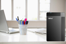 Netac K218 500G USB 3.0 External Hard Drive Black