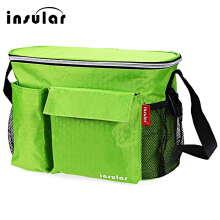 Heat Preservation Babies Diaper Bag for Stroller(Green)