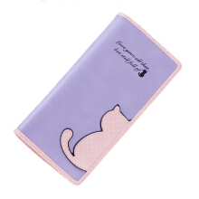 Aamour Kitty life wallet - Violet