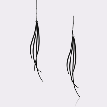 MOORIGIN - Breeze Earrings - Black (Size S)